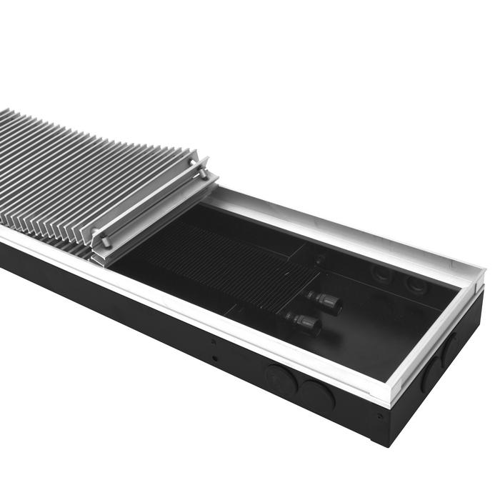 Внутрипольный конвектор itermic ITT  с алюминиевой решеткой